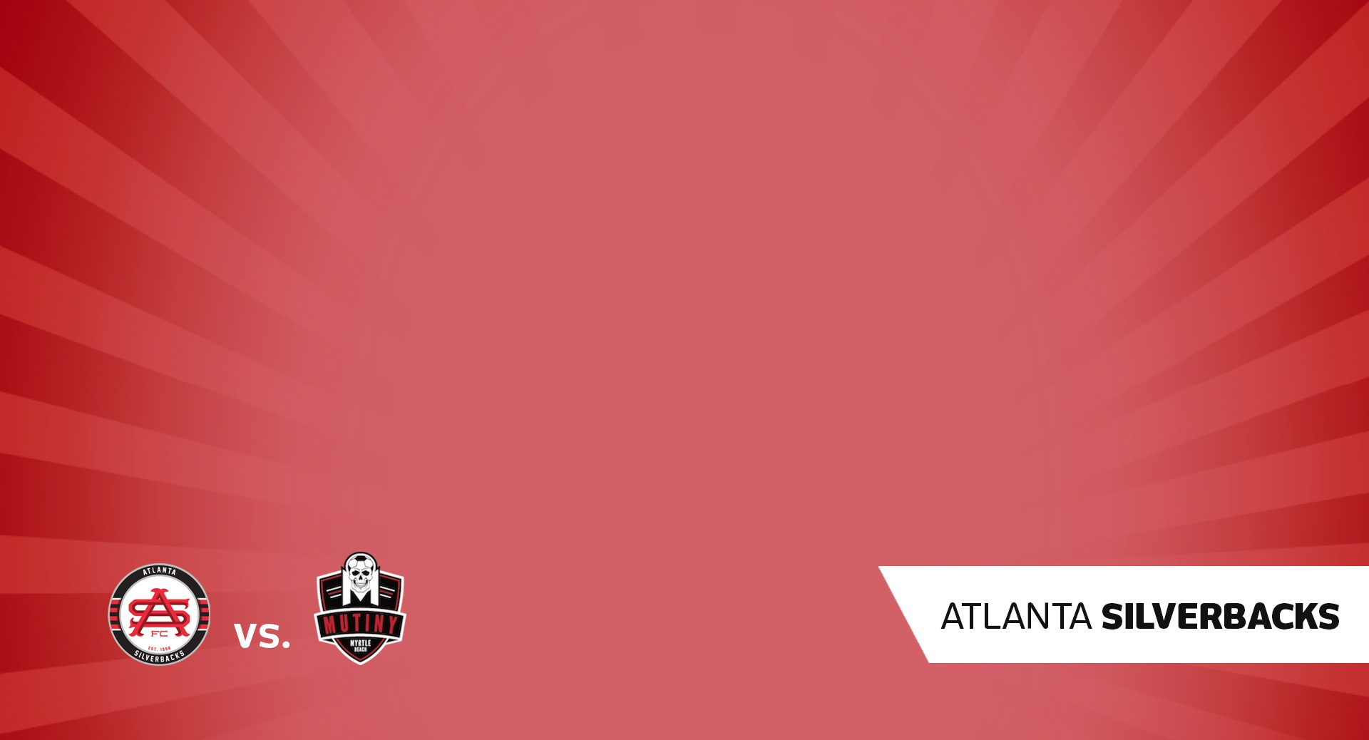 Atlanta Silverbacks vs Myrtle Beach Mutiny