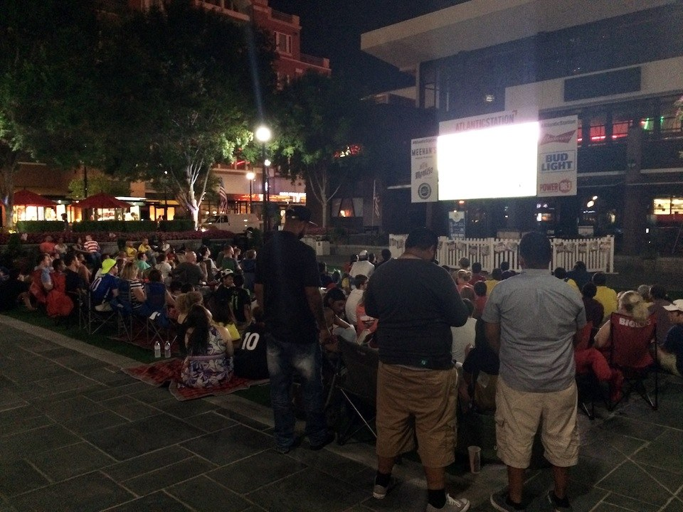 Fan Zone USA vs. Colombia Watch Party at Atlantic Station 2