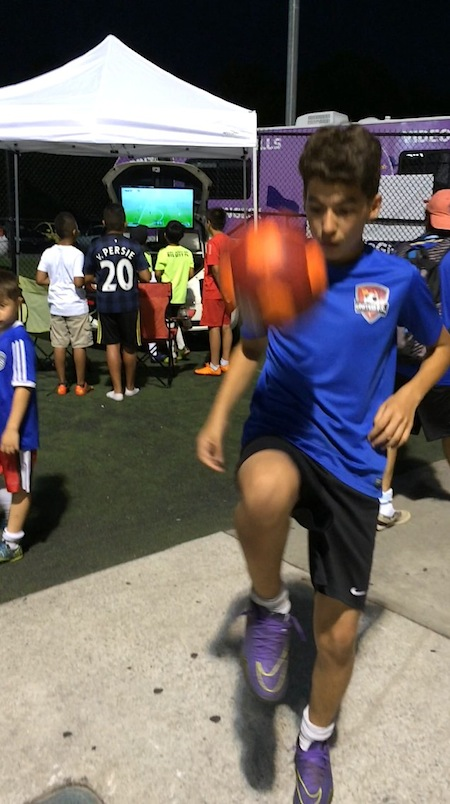 Soccer Skills Challenges - PlayWinGive